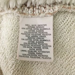 Anthropologie Sweaters - Anthropologie Sherpa Lined Waterfall Cardigan